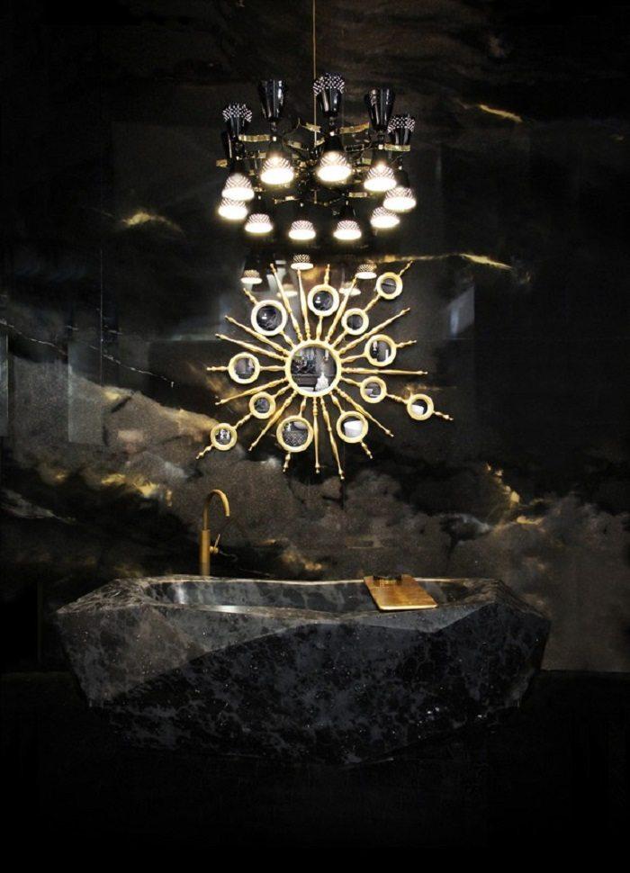 efectos paredes texturas bañeras espejos