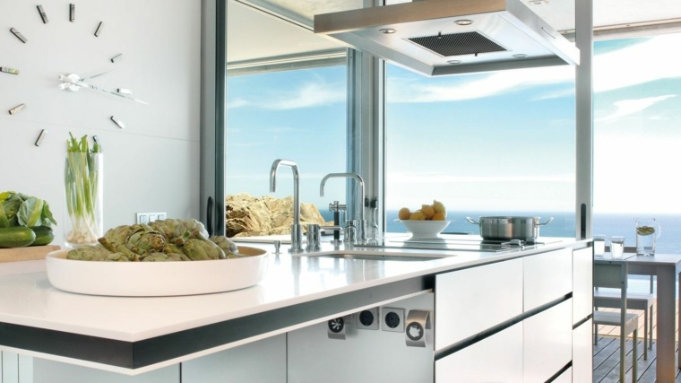 Encimeras cocina superficies funcinales y modernas for Cocinas originales diseno