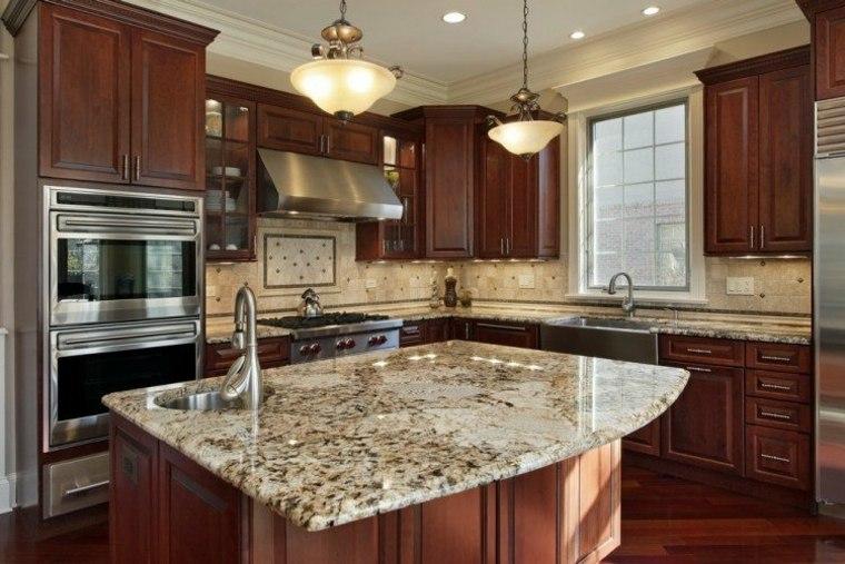 encimeras cocina mármol granito