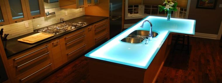 Encimeras para cocinas lo que debemos saber - Encimeras de cocina de cristal ...