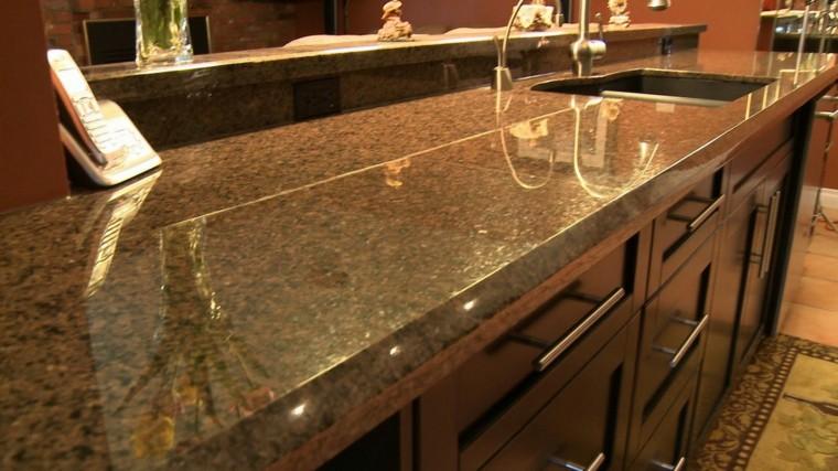 Encimeras para cocinas lo que debemos saber - Colores de granito para cocinas ...