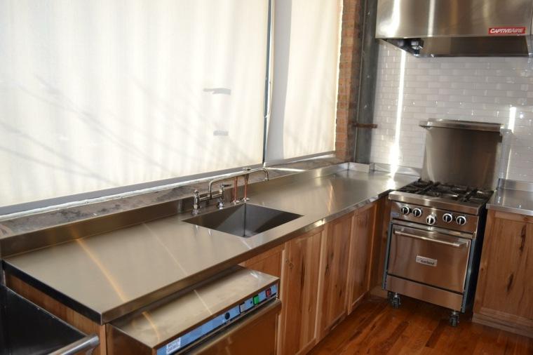 Encimeras de madera para cocinas foto de cocina comedor for Encimeras de cocina de madera maciza