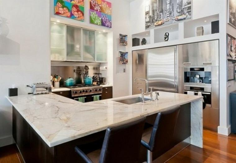 Encimeras para cocinas lo que debemos saber for Encimera cocina marmol o granito