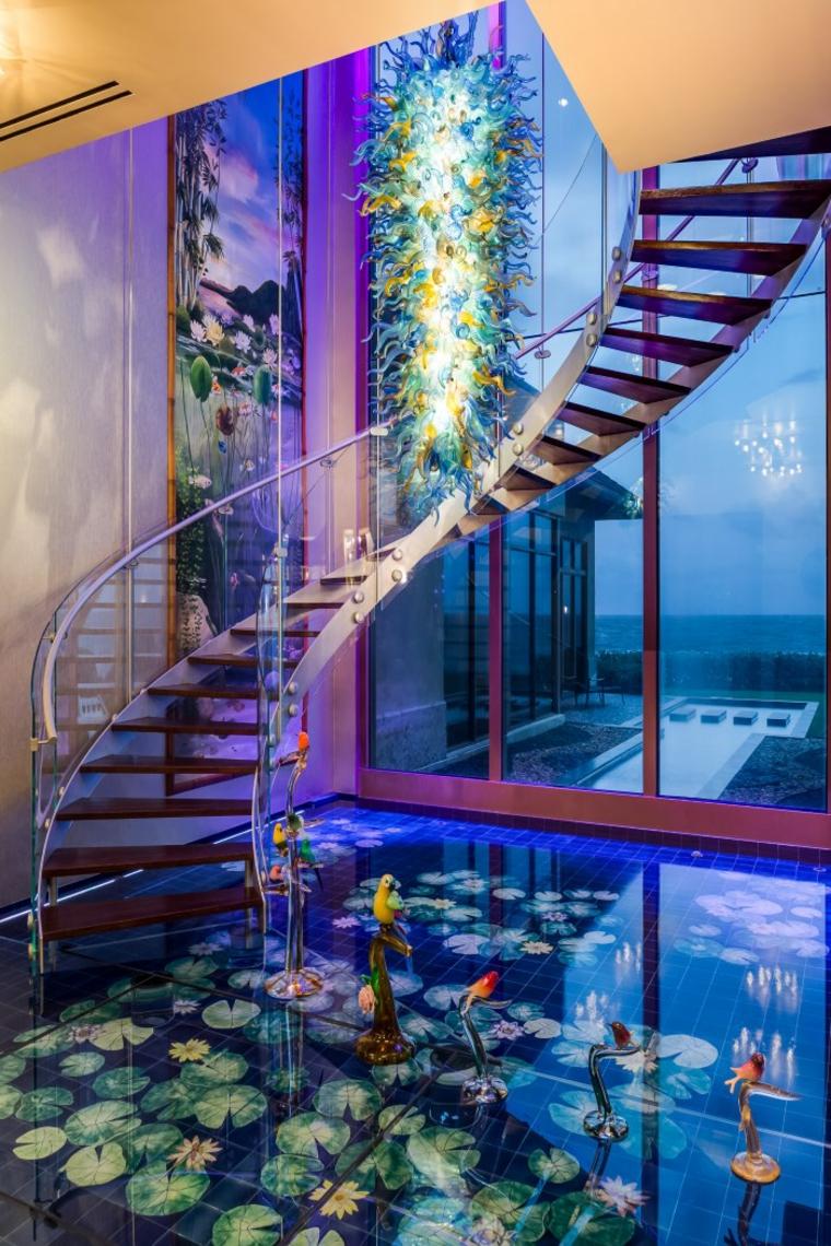 escaleras originales tema acuario