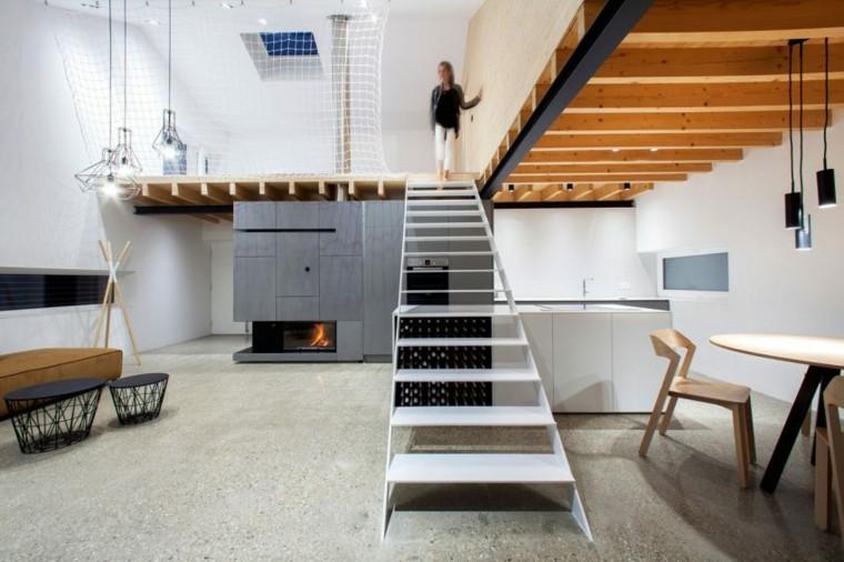 escalones planta baja inferiores escalera