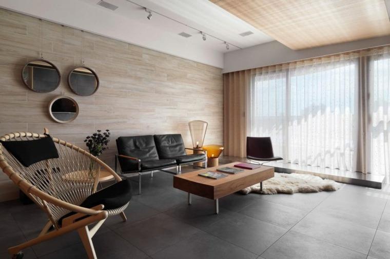 espejos pared salon C H Interior ideas
