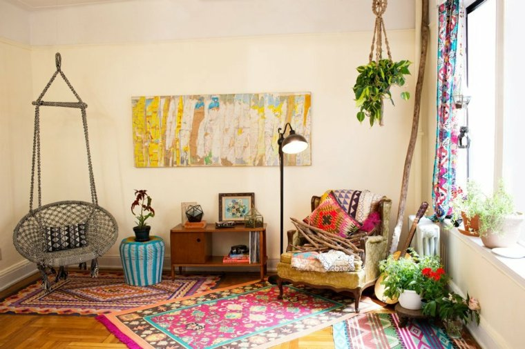 Estilo bohemio en la decoraci n de nuestra casa for Muebles hippies