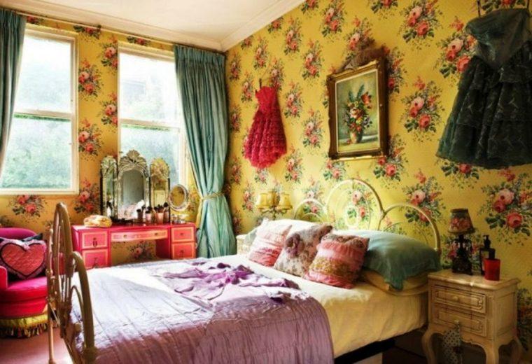 estilo boho dormitorio