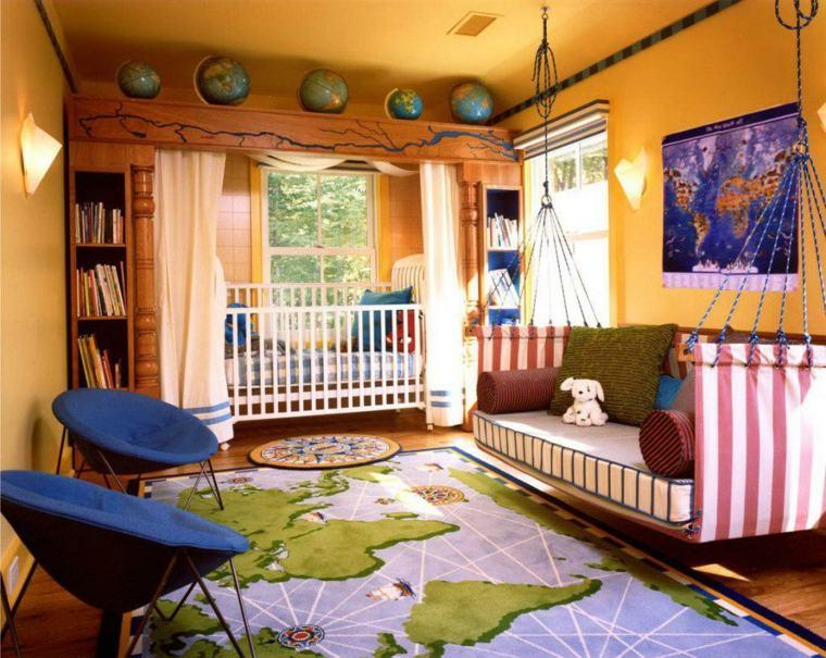 estilo chic habitación niños