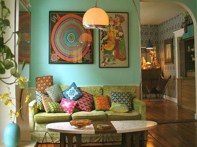 estilo chic sala de estar