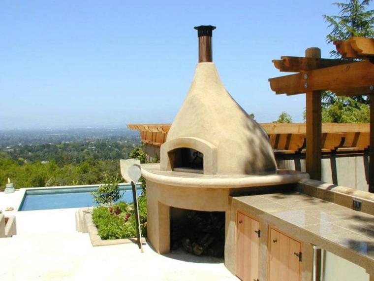 estupenda terraza cocina original