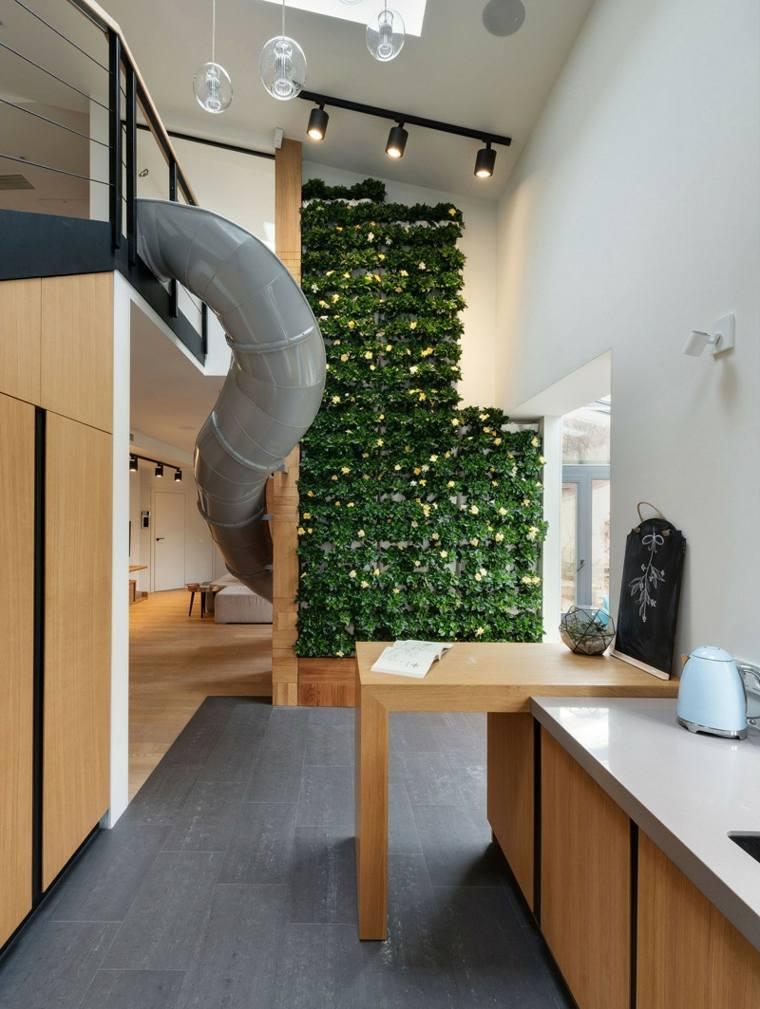 estupendo diseño jardin interior