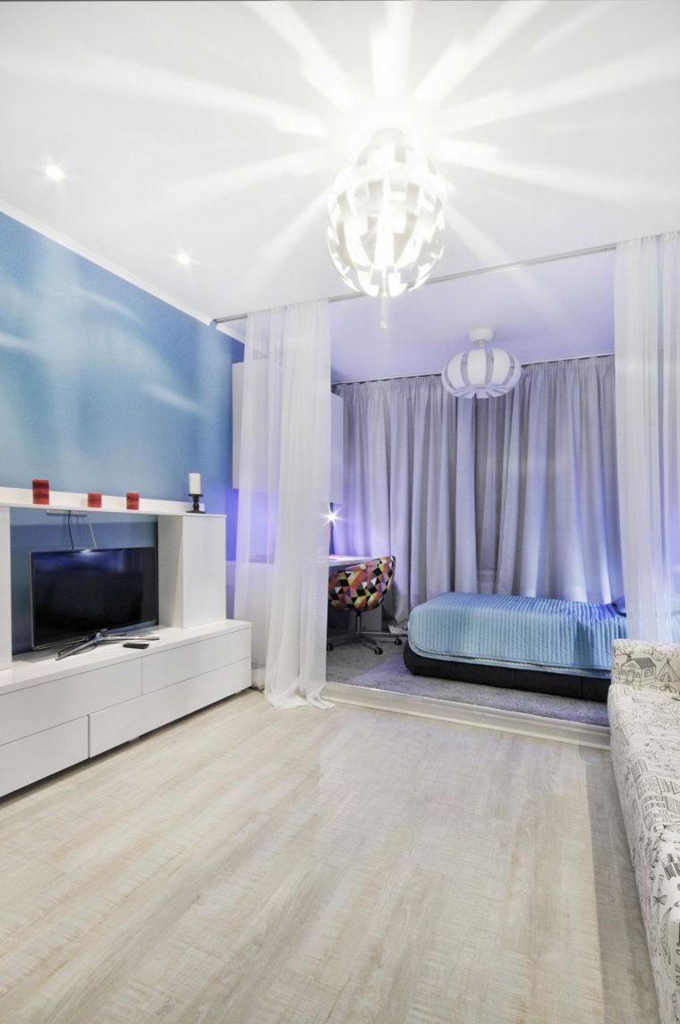 estupenda decoracion habitación juvenil