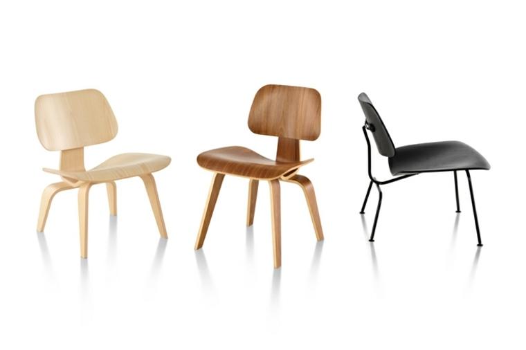 estupendo diseño sillas Eames