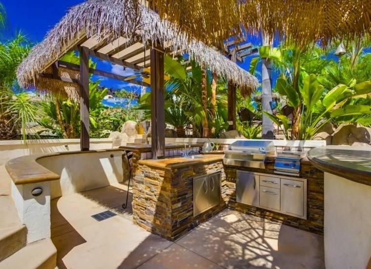 estupendo diseño terraza cocina