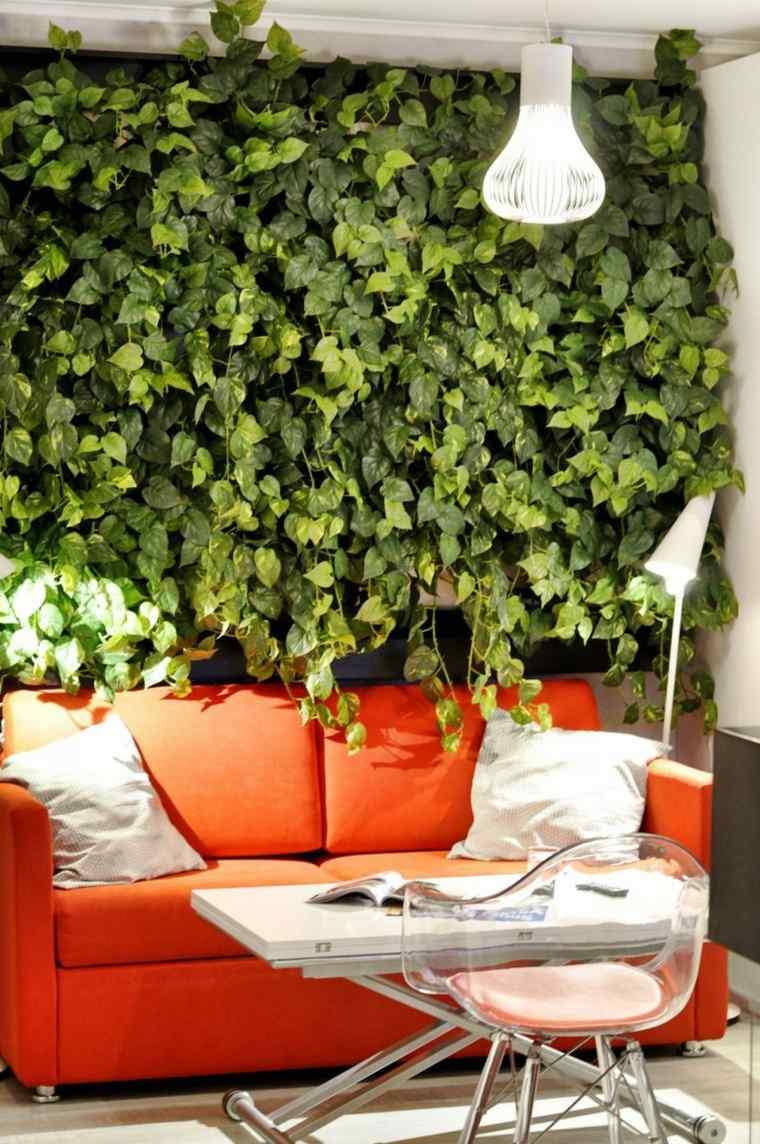 estupendo diseño jardin vertical enredaderas