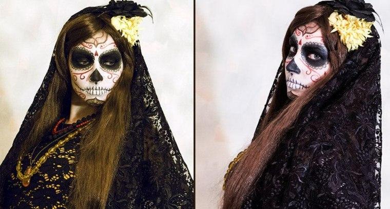 estupendo diseño maquillaje diseno catrina