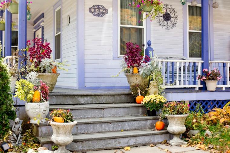 exterior decoracion original decoracion otoño