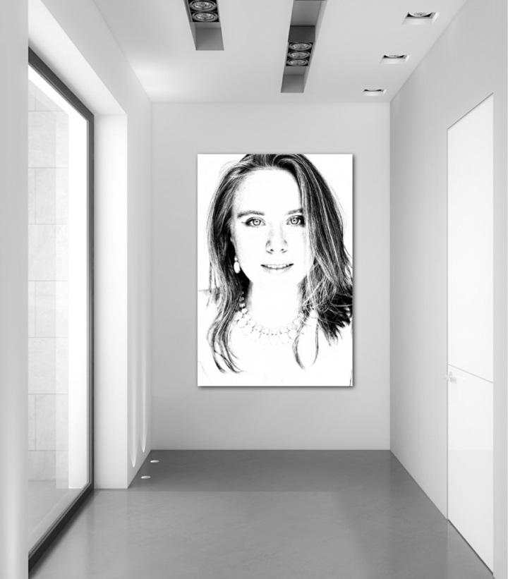 fotos blanco negro ideas materiales led