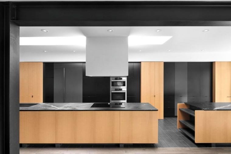 fotos cocinas gabinetes madera preciosos ideas