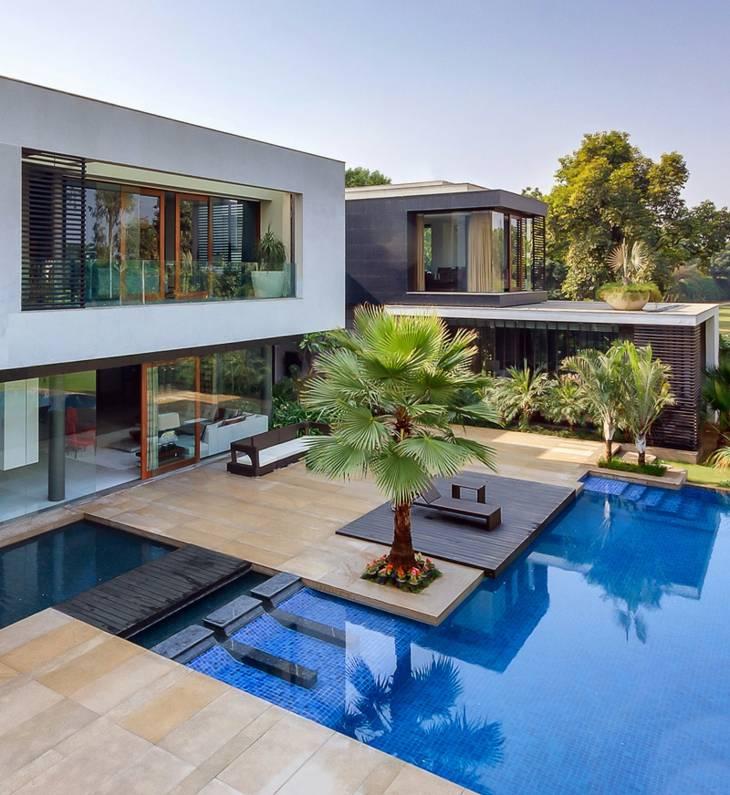 Fotos de piscinas incre bles para espacios modernos en 42 for Piscinas economicas enterradas