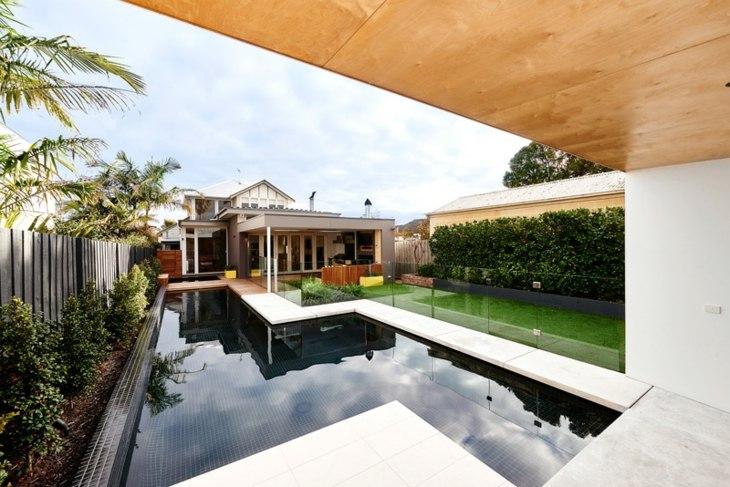 fotos de piscinas moderno minimalista patios