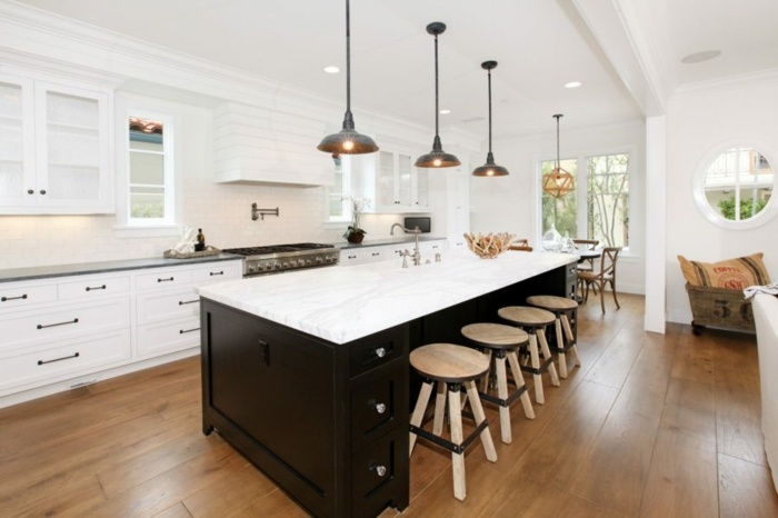 gabinete especiales suelos madera marrones