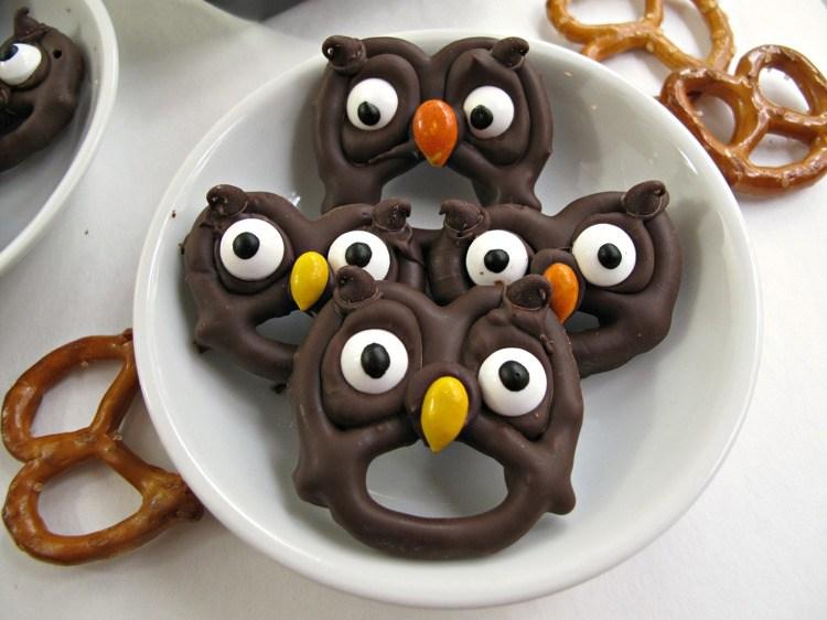 galletas decoradas chocolate ocpciones ojos