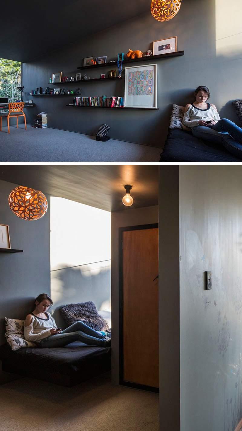 grises estantes muebles espacios calidos