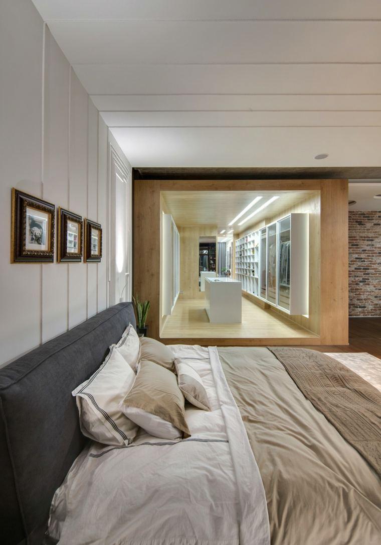 habitacion moderna vestidor grande pasillon
