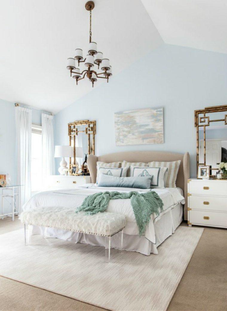 Colores pastel suaves para decorar tu hogar 24 ideas - Habitacion rosa palo ...