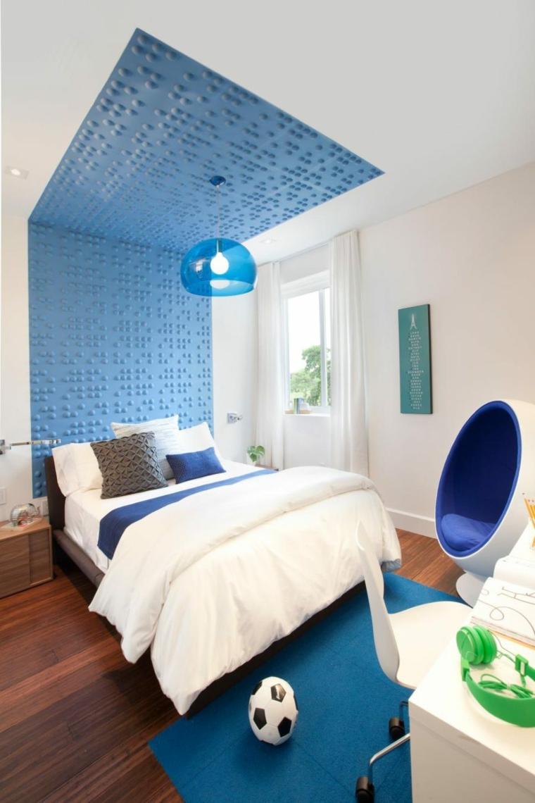 habitación infantil color azul