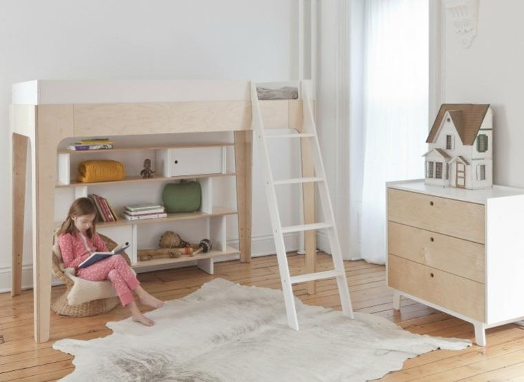 habitacion infantil muebles madera