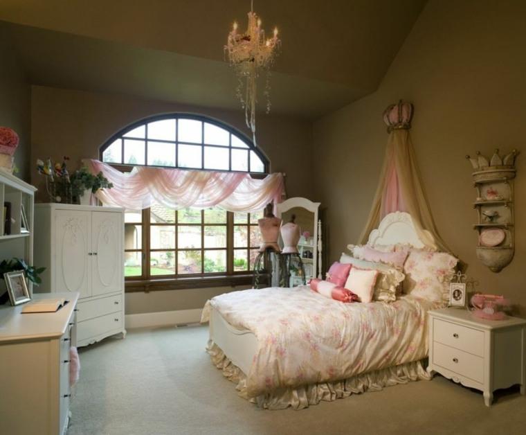 habitaciones juveniles para niñas