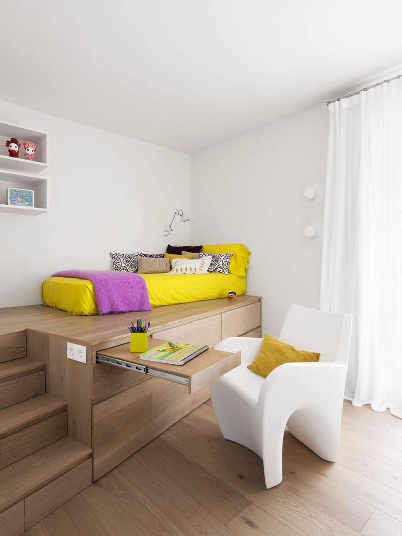 habitaciones luminosas estilos variantes amarillo