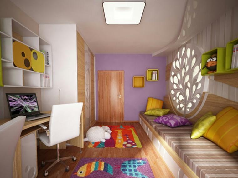 habitaciones modernas juveniles para mujeres