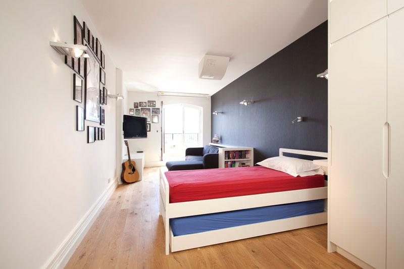 habitaciones muebles estilos fuentes madera