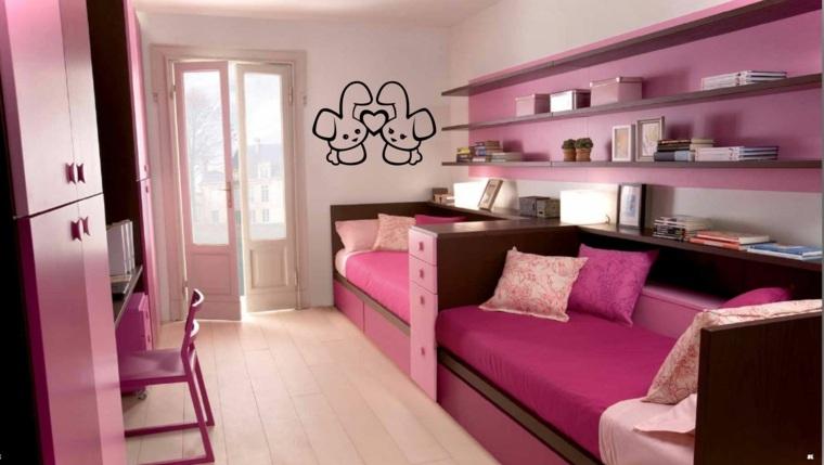 habitaciones para chicas dobles