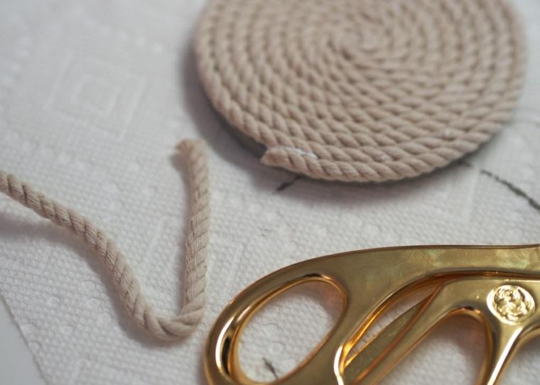 hacer posavasos cuerda enroscada deco