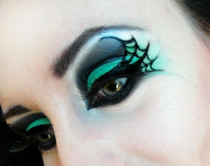halloween diseño negro salones azules
