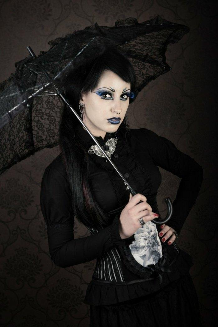 halloween diseño sombrillas negro sombrilla