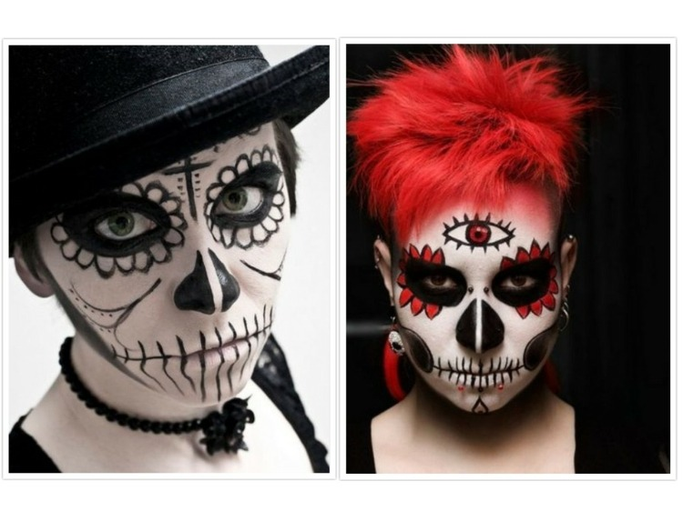 halloween maquillaje especiales mujeres salones
