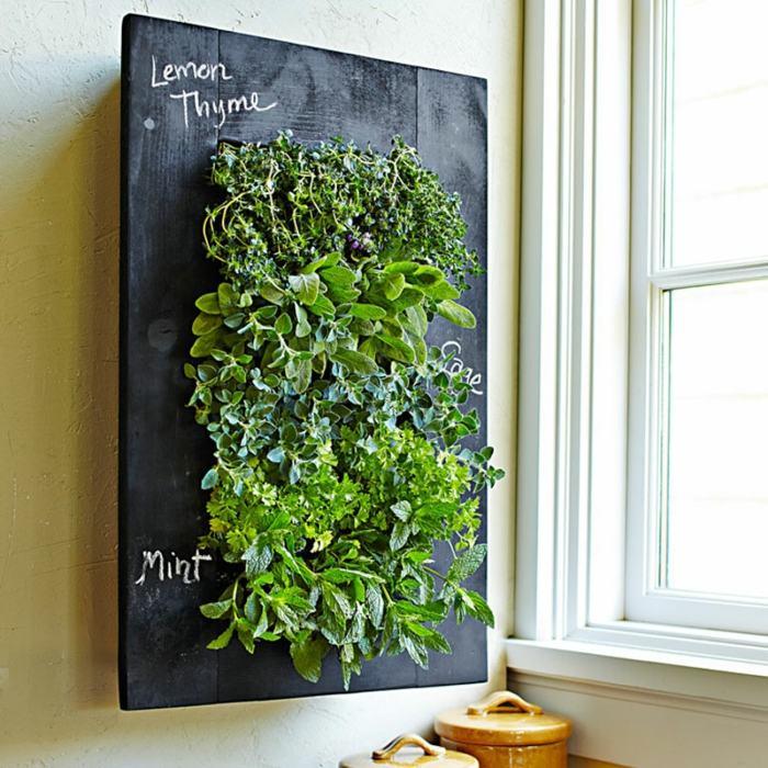 Hierbas aromaticas en impactantes jardines verticales - Plantas aromaticas en la cocina ...