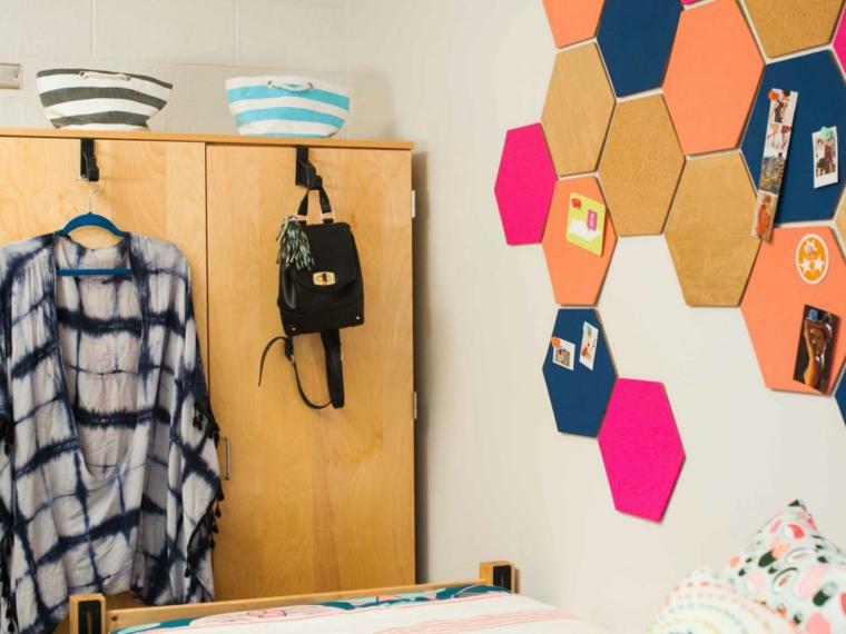ideas diy especiales fotos fijadas paredes