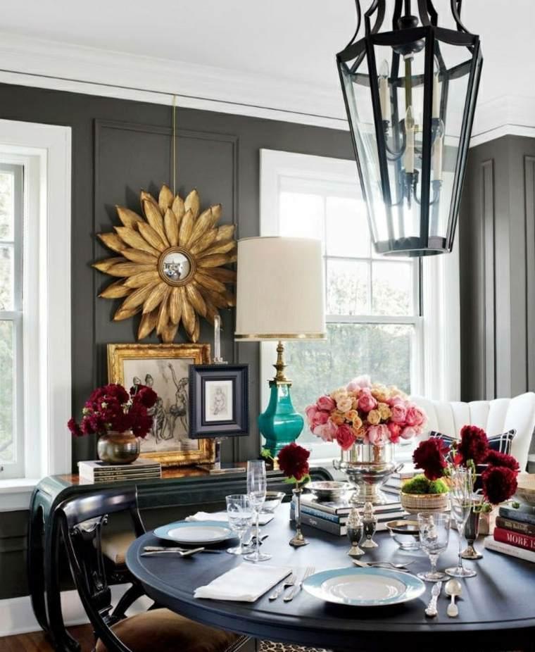 ideas para decorar casa otono comedor moderno