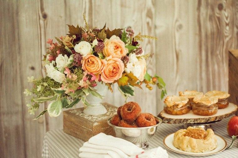 ideas para decorar casa otono comida mesa original