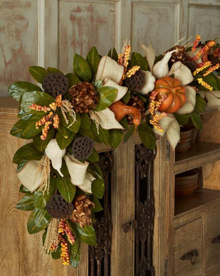 ideas para decorar casa otono flores original