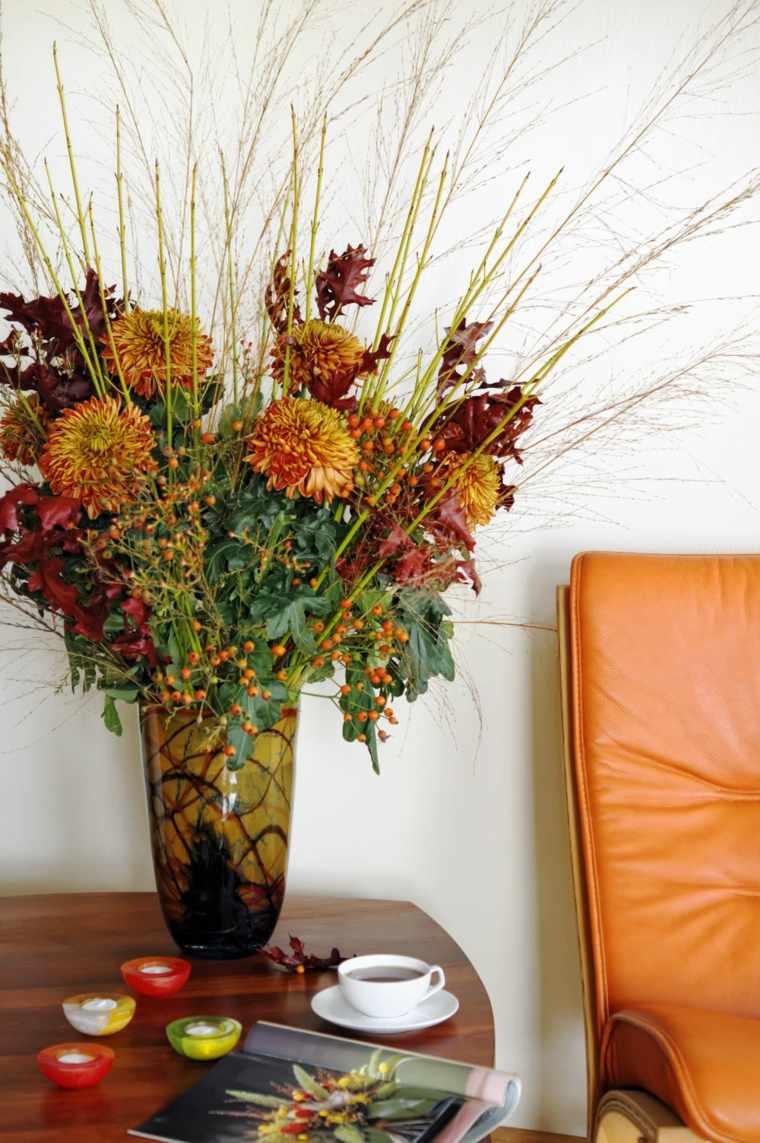 ideas para decorar casa otono mesa auxiliar original
