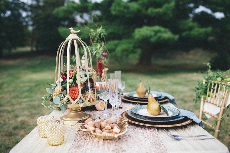 ideas decorar casa otono peras jaula original