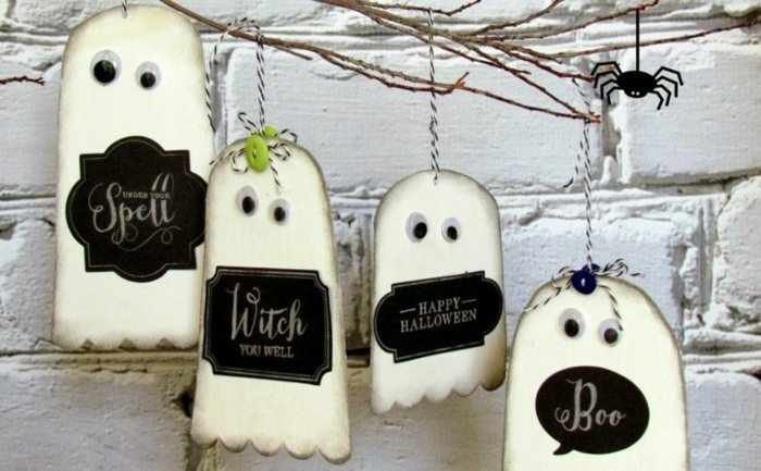 ideas para halloween fuentes especiales fantasmas